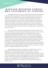 mba statement of purpose help mba