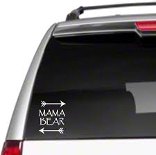 Amazon Com Mama Bear Arrows Car Vinyl Sticker Decal 6 Family Kids Proud Mom Cubsd5 Automotive