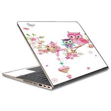 Skin Decal For Hp Spectre X360 13t 13 3 Laptop Vinyl Wrap Owls In Tree Teacup Cupcake Walmart Com Walmart Com