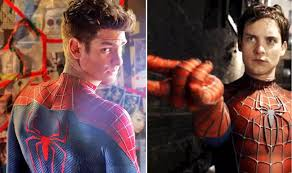 Tobey Maguire and Andrew Garfield ...