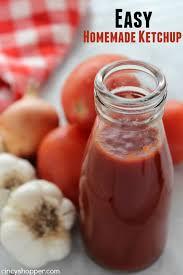 easy homemade ketchup cincyper