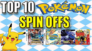 Top 10 Pokemon Spin Off Games - @KmackTime - YouTube