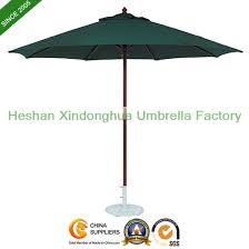 china 2 7m round wooden patio umbrella