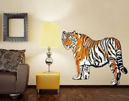 Tiger Wall Decal Sticker Animal Wall Decals Print Decals Vinyl Art