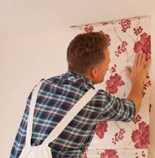learn to hang wallpaper