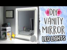 20 diy vanity mirror using led lights