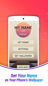 my name wallpaper apk for android apk