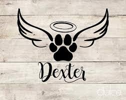 Pet Memorial Decal Etsy