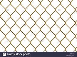 Gold Chain Link Fence Vector Illustration For Your Design Stock Vector Image Art Alamy