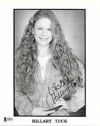 HILLARY TUCK Signed B&W 8x10 PHOTO Camp Nowhere Life As A House ...