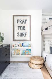 White And Gray Boys Room With Black Dresser Transitional Boy S Room