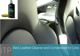 best leather car seat cleaner and