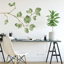 Roommates Leaf Twig Peel And Stick Giant Wall Decals Amazon Com