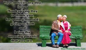 anniversary status for mom and dad parents anniversary status