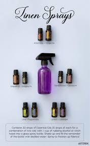room spray using essential oils