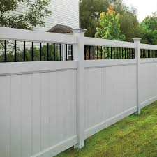 Vinyl Fencing Austin Vinyl Fence Company San Marcos Waco Texas Austex Fence And Deck