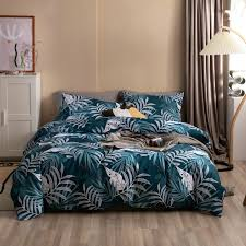 bed sheet flat fitted 4pcs suit single