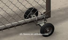 6ft Height Galvanized Iron Chain Link Fence Gate Buy Chain Link Fence Gate Chain Link Fence 6ft Height Fence Gate Product On Alibaba Com