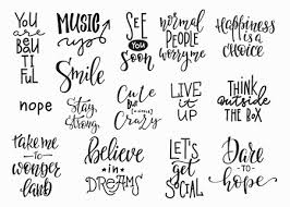 lettering photography overlay set motivational quote sweet cute
