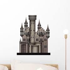 Medieval Castle Wall Decal Wallmonkeys Com
