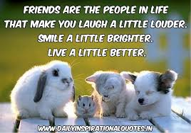 inspirational quotes about friendship and life