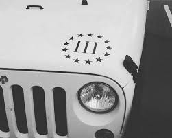 Excited To Share This Item From My Etsy Shop 3 Percenter Flag Decal 3 Percent Wall Art Vehicle Decals Car Window Decal Jeep Decals Flag Decal Yeti Decals