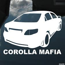 Decal Toyota Corolla Mafia Buy Vinyl Decals For Car Or Interior Decal Factory Stickerpro Different Colors And Sizes Is Avalable Free World Wide Delivery