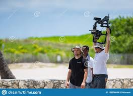 Film Crew Filming On Ocean Drive Miami Beach Editorial Stock Image - Image  of people, july: 153936084