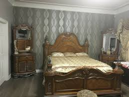 ashley saveaha bedroom set with king