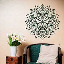 Removable Wall Decal Mandala Vinyl Mandala Wall Decal Etsy Diy Wall Decals Mandala Wall Art Morrocan Decor