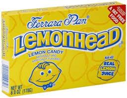 lemonhead candy 6 oz nutrition