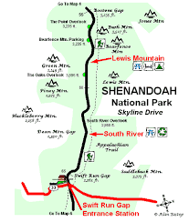 Lewis Mountain Campground Shenandoah National Park Highway 33 Enter The Park At Milepost 64 Lewis Moun Shenandoah National Park Skyline Drive Shenandoah
