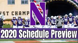 Northwestern College Football Schedule ...