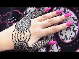 henna mehndi designs for hands tutorial