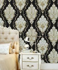 damask wallpaper wall decor paper 3d