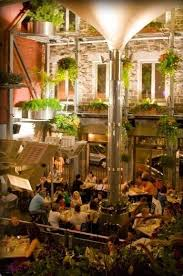 rooftop patios for wining and dining