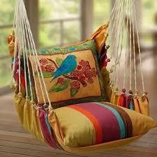 diy boho hammock chair swing hairs