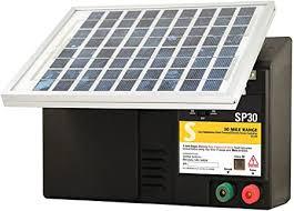 Amazon Com Zareba Esp30m Z 30 Mile Solar Powered Low Impedance Electric Fence Charger Outdoor Decorative Fences Garden Outdoor