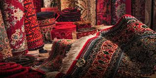 chinese city selling persian rugs