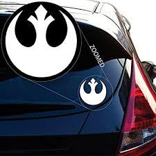 Amazon Com Yoonek Graphics Rebel Alliance From Starwars Decal Sticker For Car Window Laptop And More 510 6 Automotive