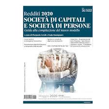 Redditi 2020. Società di capitali e società di persone