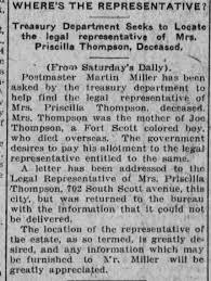 Priscilla Thompson - Newspapers.com