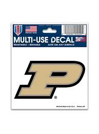 Purdue 3 X 4 Decal Purdue Car Accessories Purdue Team Store