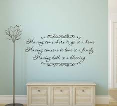 Home Family Blessing Wall Art Decal Wall Decal Wall Art