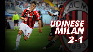 Udinese-Milan 2-1 - YouTube