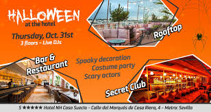 Halloween At 5 Hotel Nh Collection Suecia En Casa Suecia En Madrid 2019 10 31 22 00 Bpremium