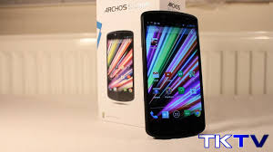 Unboxing: ARCHOS 50 Oxygen Android ...
