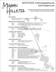 12 fine artist resume template
