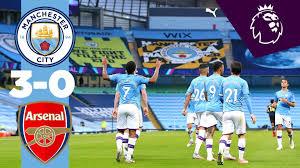 Манчестер Сити - Арсенал - 3:0: смотреть видеообзор матча АПЛ ...