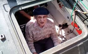 Great-grandmother celebrates 101st birthday by driving tank ...